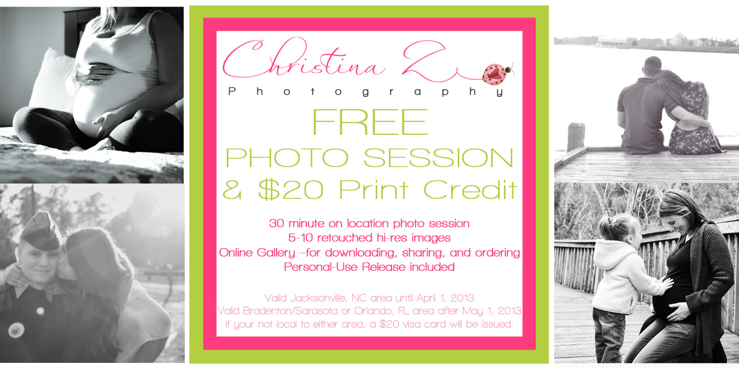 © Christina Z Photography 1k Fan Giveaway