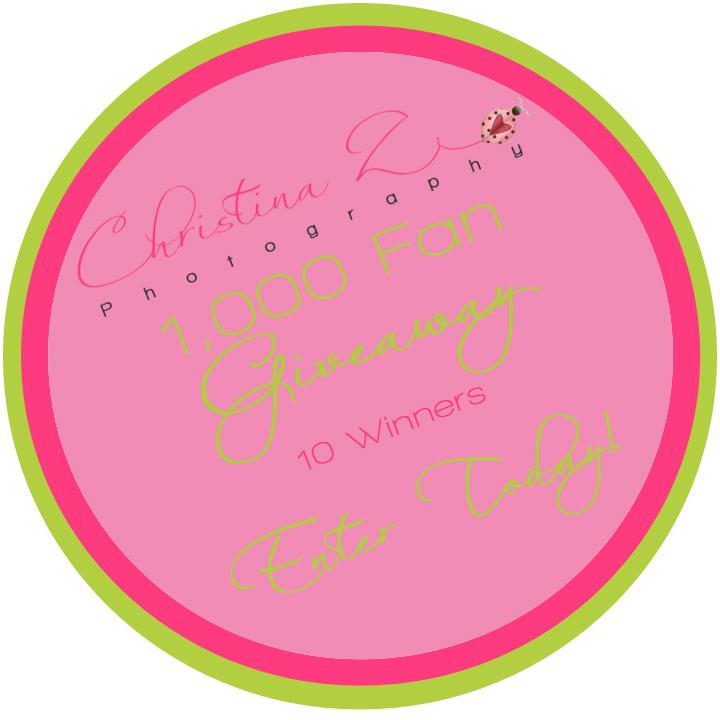 Christina Z Photography 1k Fan Giveaway