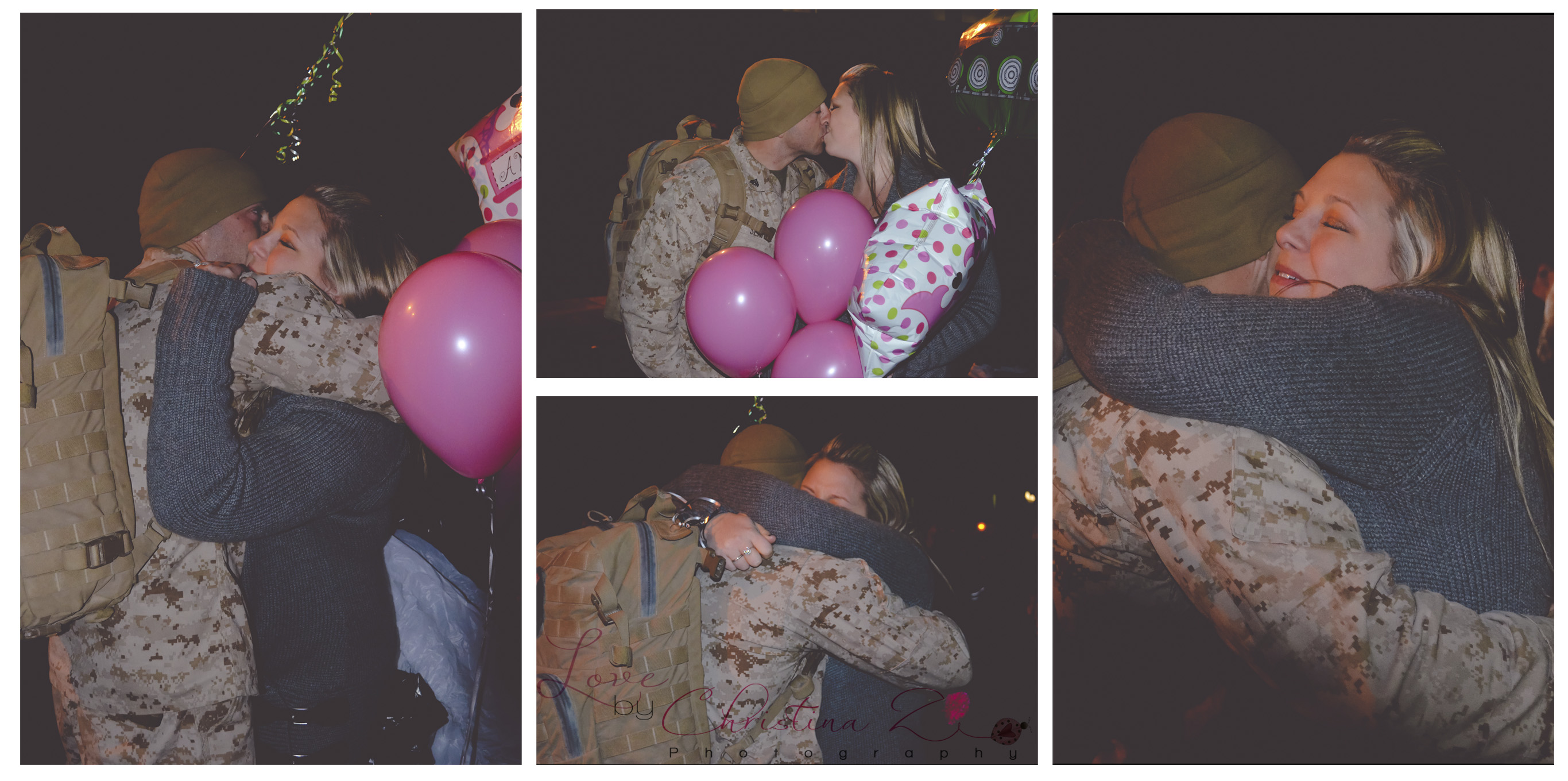 Gender Reveal / Military Homecoming / Couple in LOVE | Love by Christina Z Photography ©