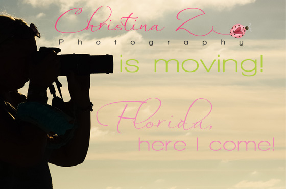 Christina Z Photography is moving! ©