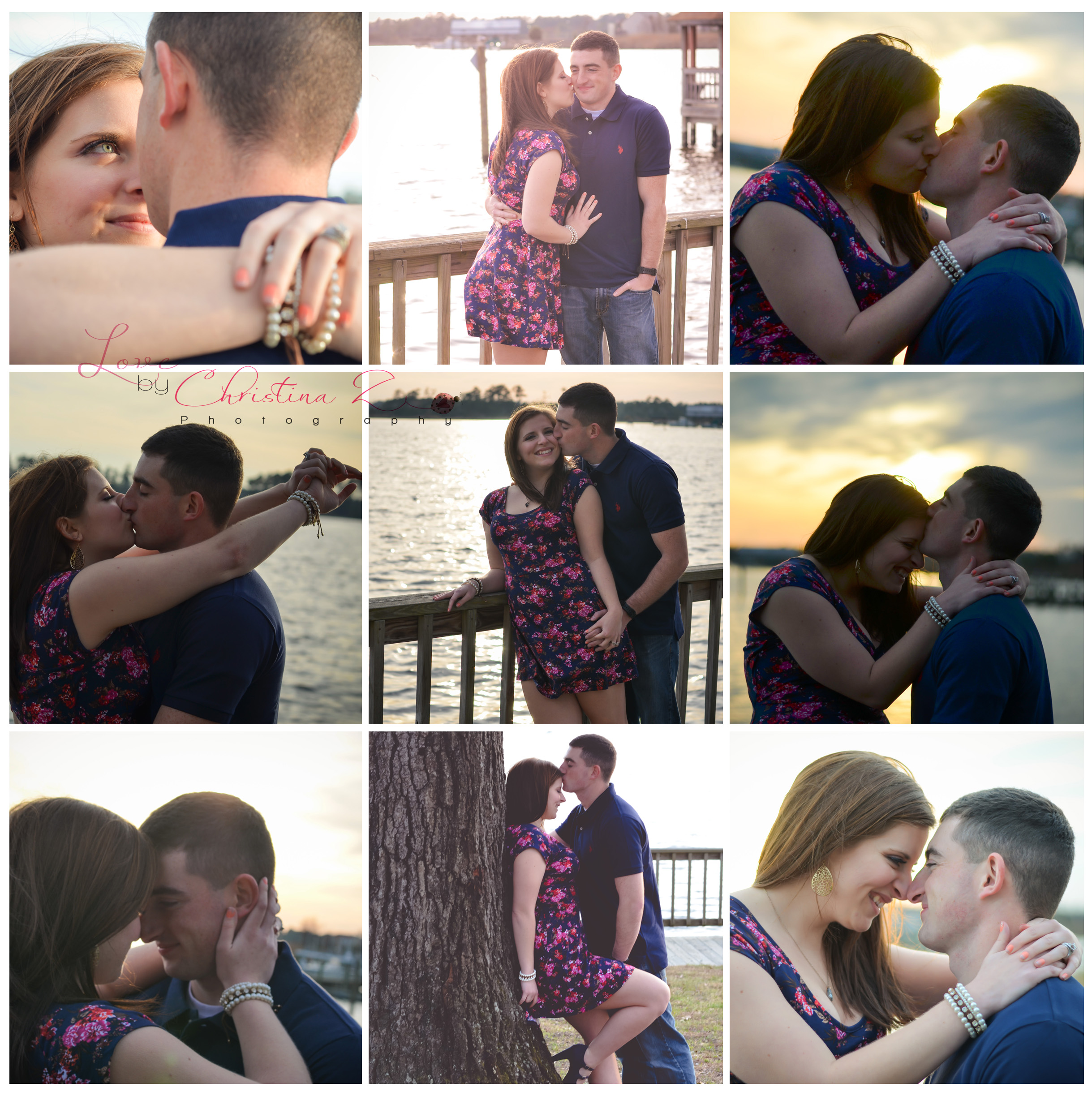 Couple in LOVE Outdoor Photo Session | Love by Christina Z Photography ©