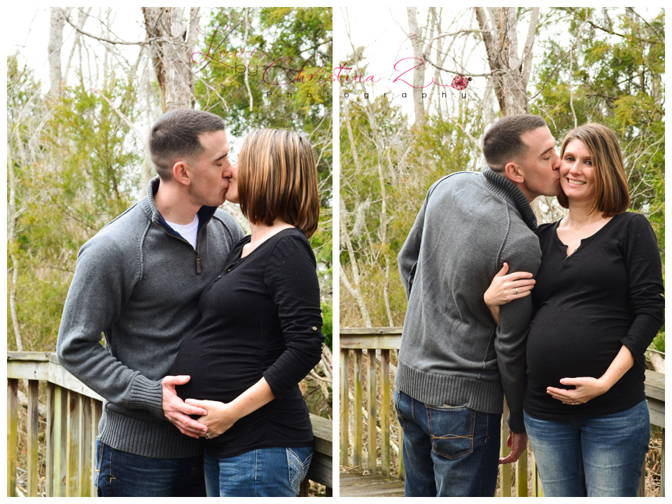 Maternity Couple in LOVE Outdoor Photo Session | Love by Christina Z Photography ©