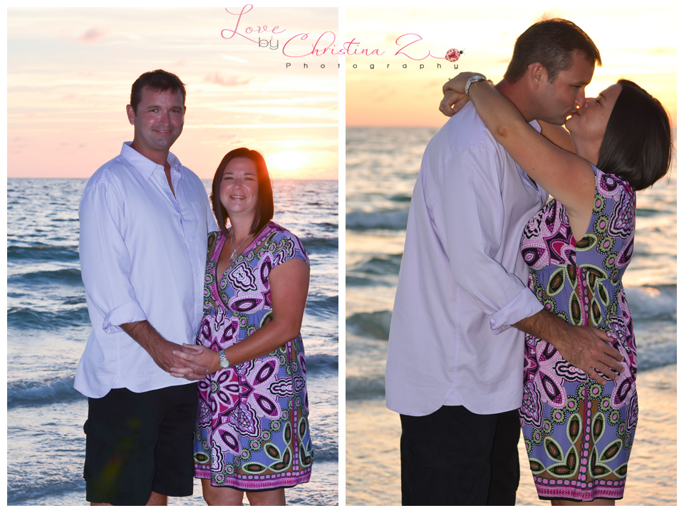 Couple in LOVE Outdoor Beach Photo Session | Love by Christina Z Photography ©