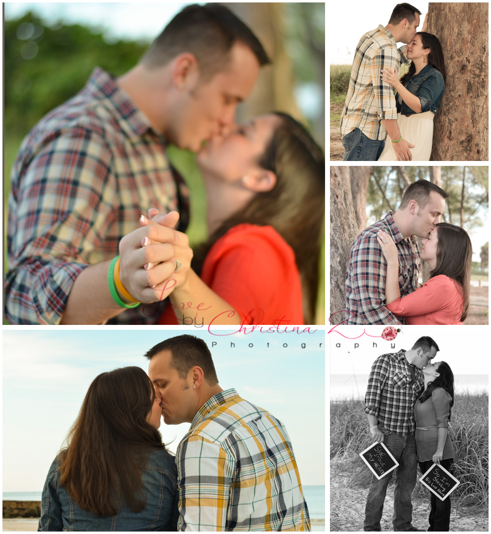 Engagement Couple in LOVE Photo Session | Love by Christina Z Photography ©