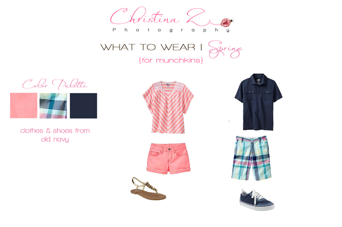 Christina Z Photography | What to Wear Spring