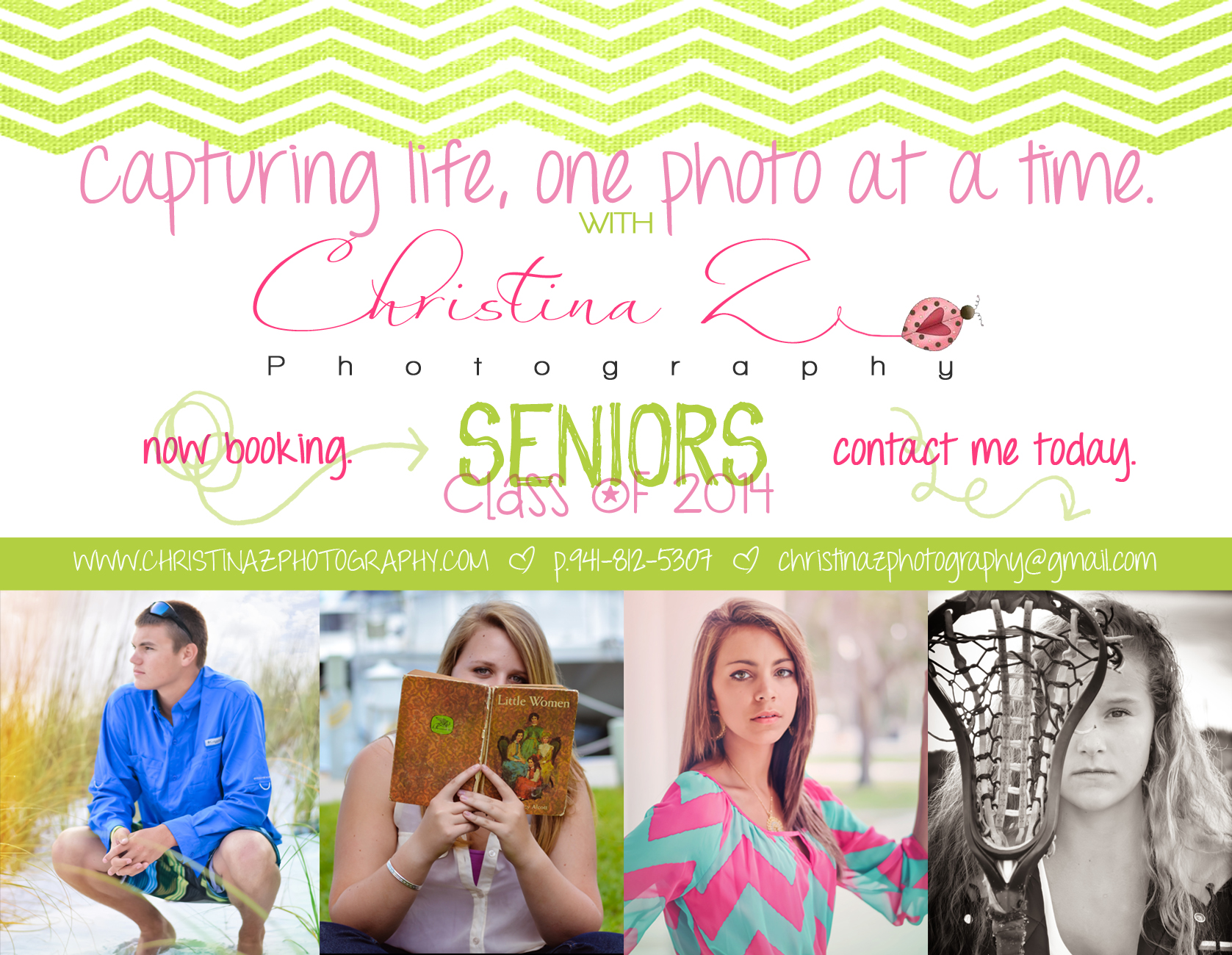 2014 High School Senior Photographer | Christina Z Photography