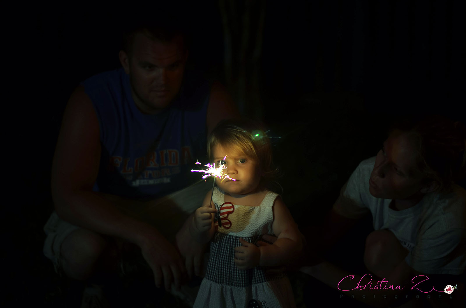 Family 4th of July Photo | Christina Z Photography - Orlando FL Photographer