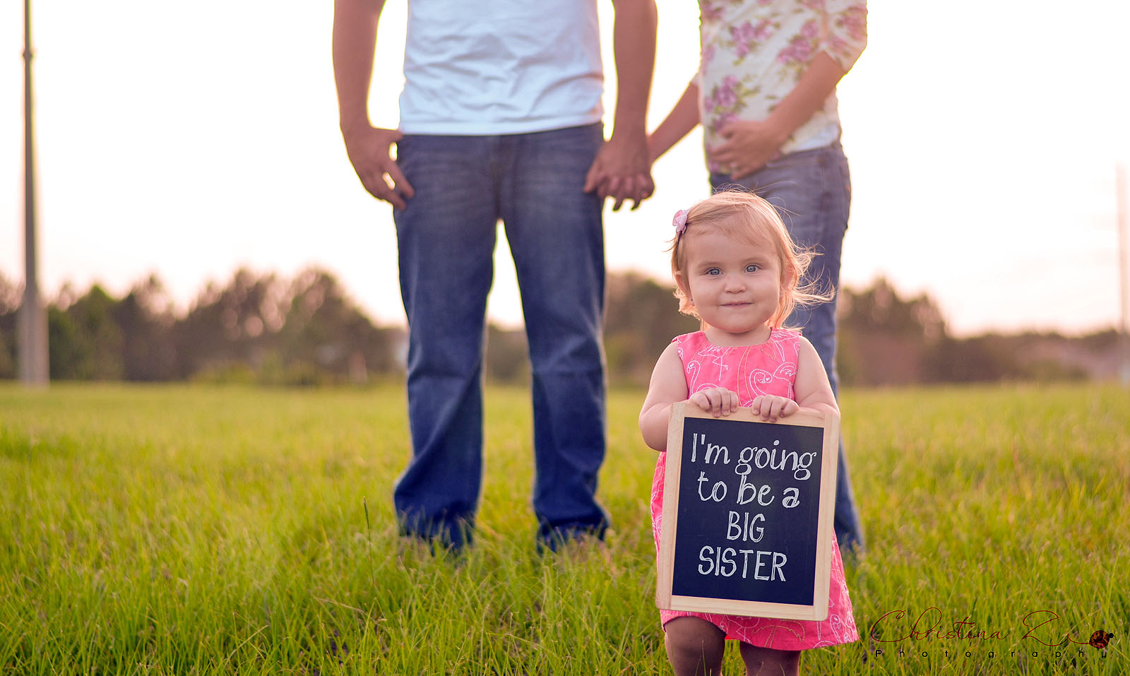 Pregnancy Announcement Photo | Christina Z Photography - Orlando FL Photographer