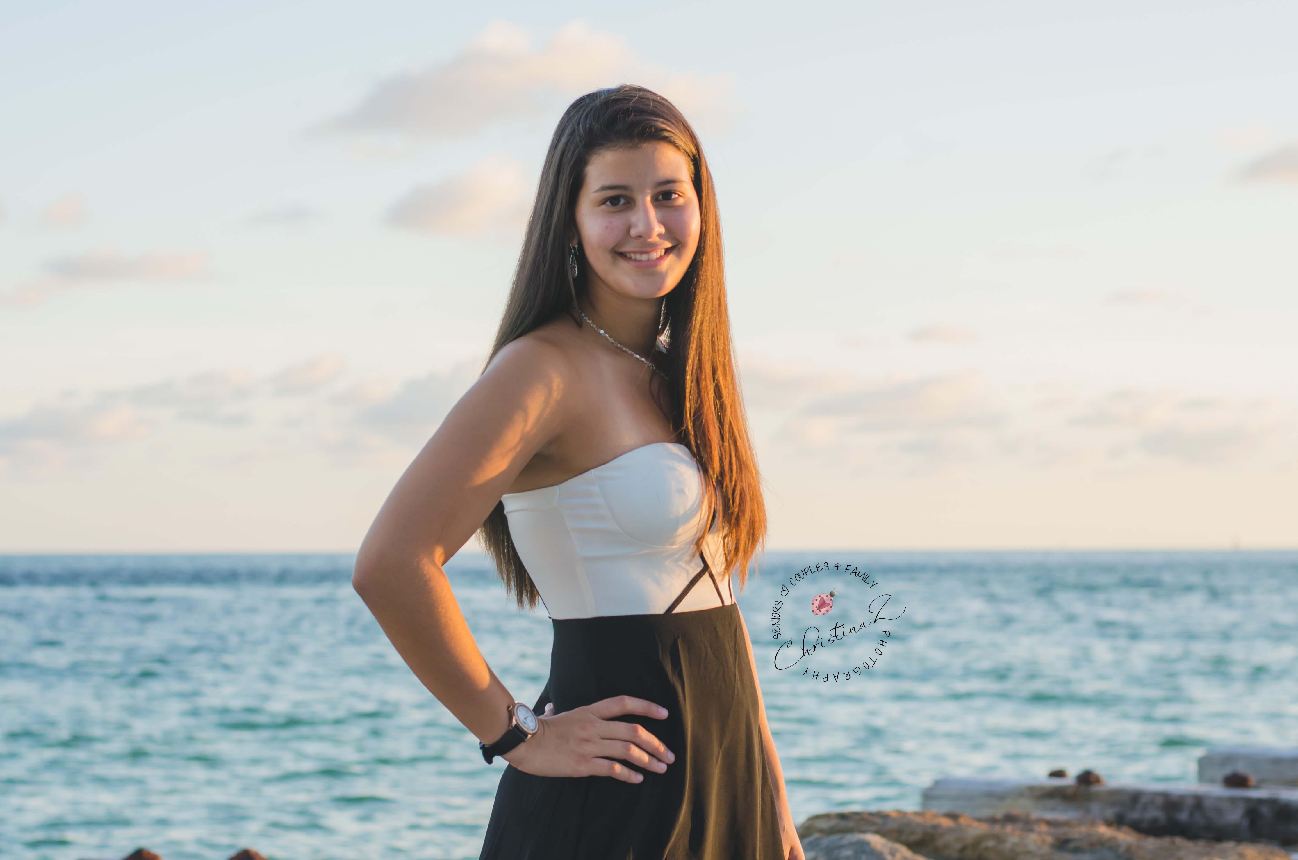 Maria | 2014 St. Petersburg High School Senior Photo Session| Bradenton Florida Senior Photographer | © Christina Z Photography