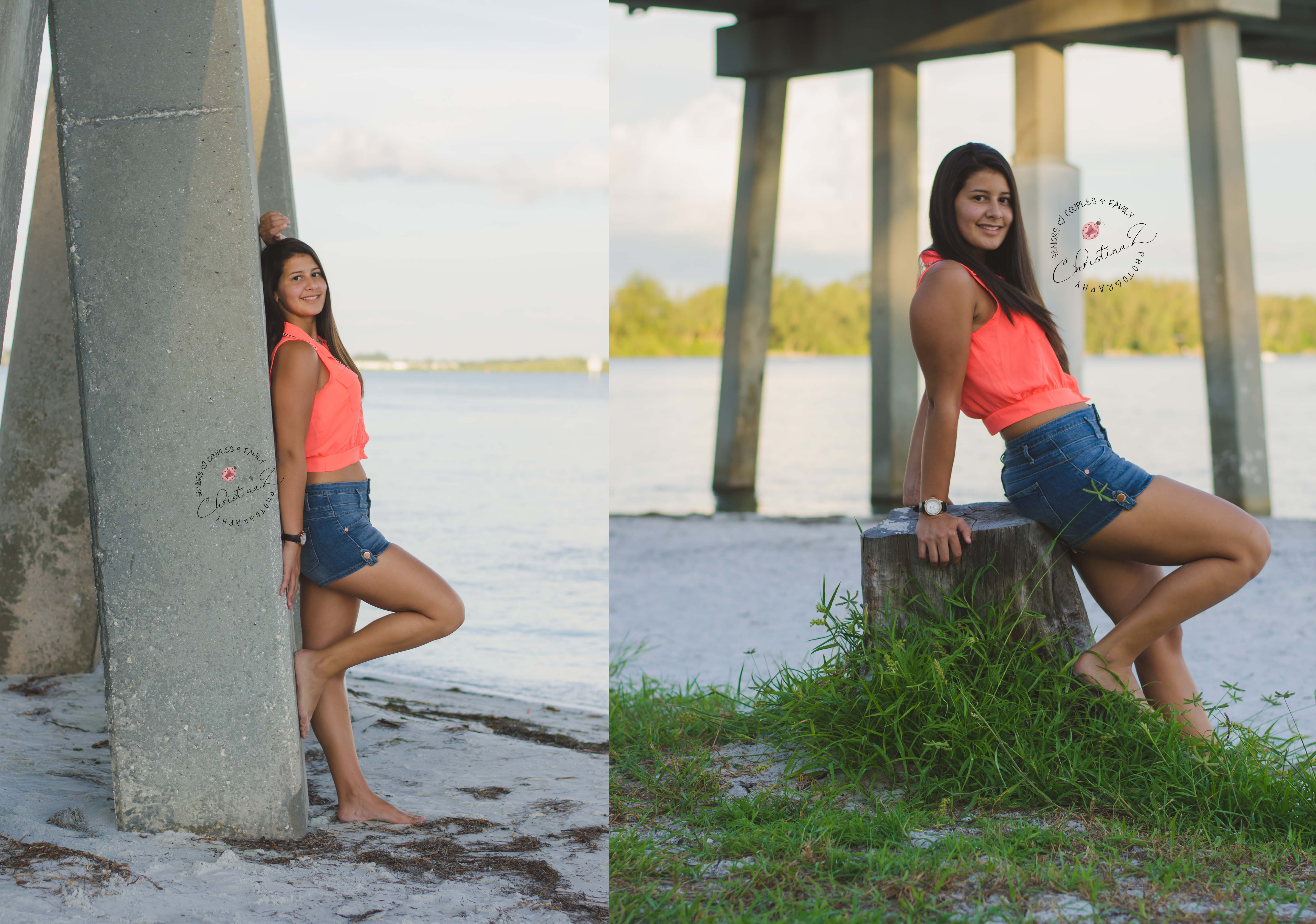 Maria | 2014 St. Petersburg High School Senior Photo Session| Bradenton Florida Senior Photographer | © Christina Z Photography