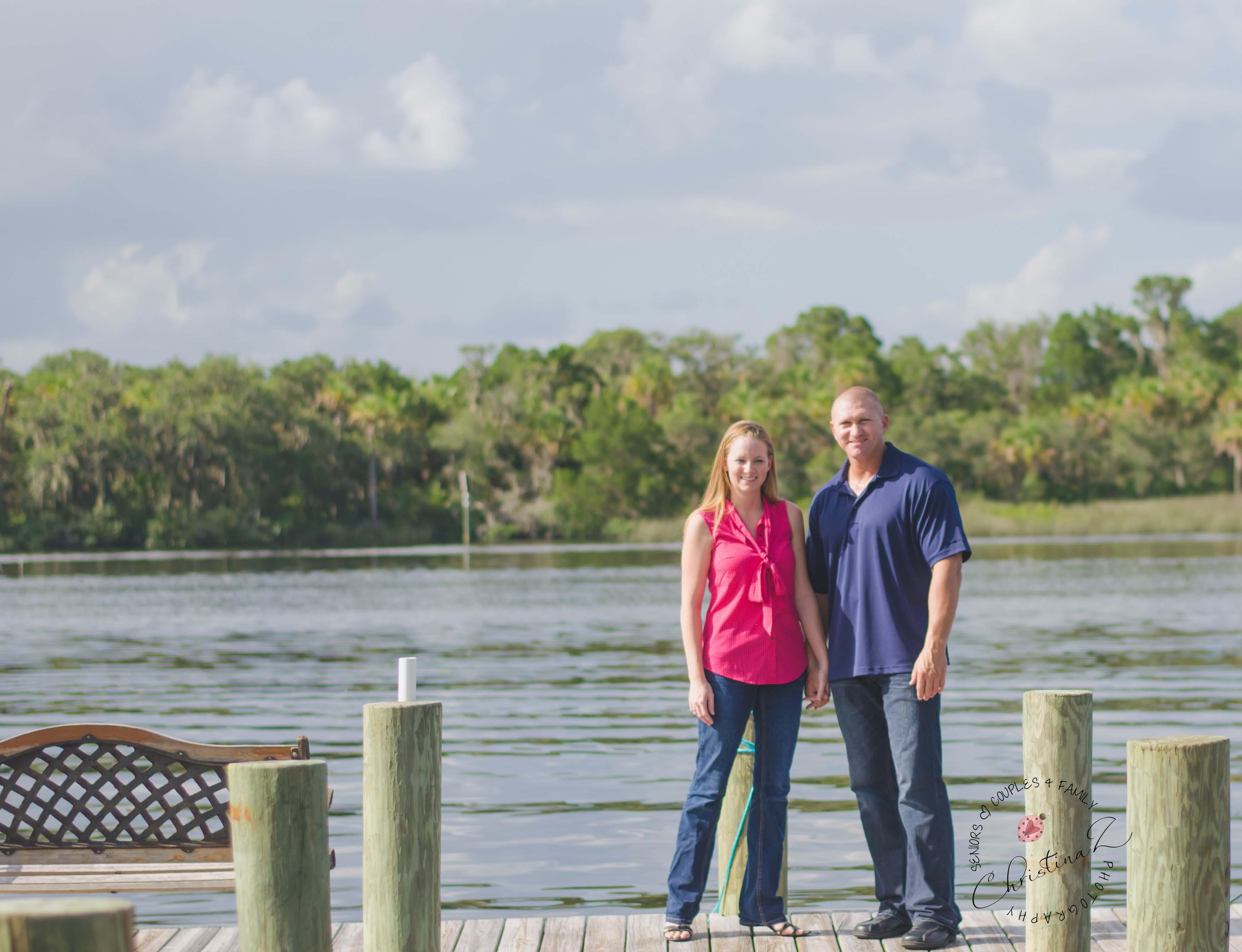 Candy + Jeff | Engagement Photography | Christina Z Photography © 2013 - Bradenton, FL