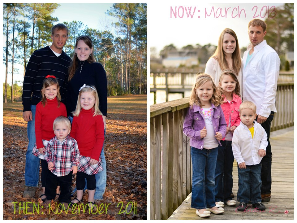 Family Photo Comparison | Christina Z Photography - Bradenton, FL