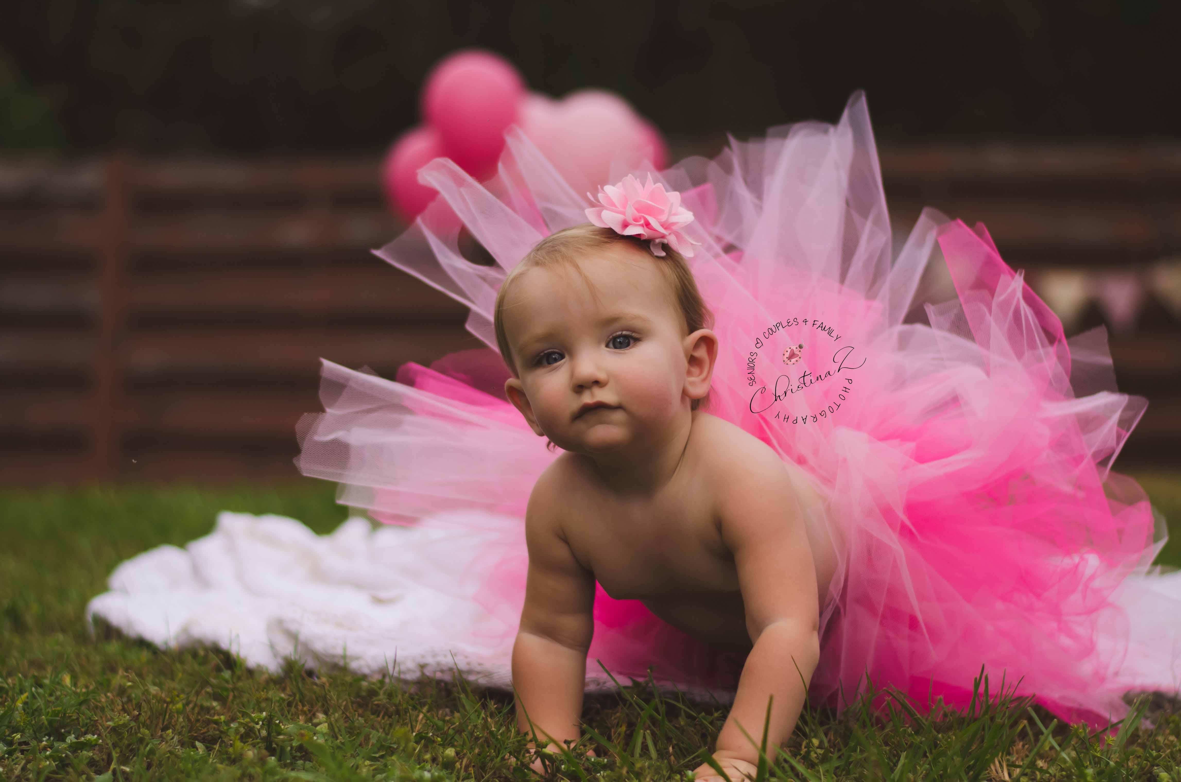 Emily's 1st Birthday Photo Session | Christina Z Photography - Bradenton, FL