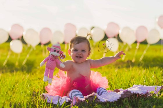 Kayleen's 1st Birthday Photo Session | Christina Z Photography - Bradenton, FL