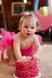 First Birthday Cake Smash by Christina Z Photography - Bradenton, FL